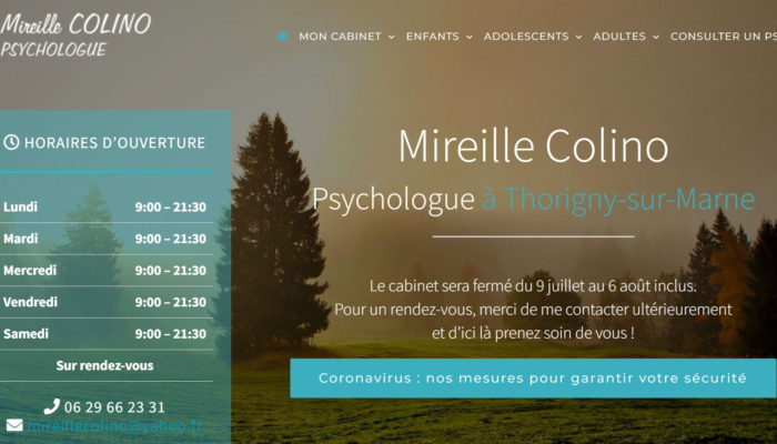 Site de Mireille Colino, psychologue à Thorigny